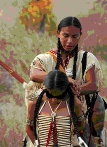 Cherokee Father and Son