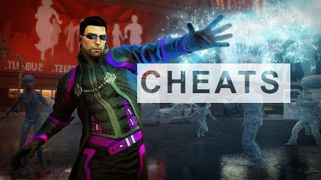 Senarai Cheat Game Saints Row IV Untuk PC