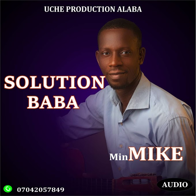 [Download EP] Min. Mike  - Solution Baba EP