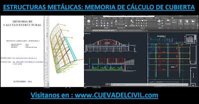 Metalicas Memoria de Calculo de Cubierta