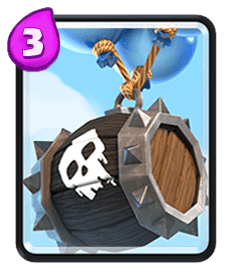Carta Barril de Esqueletos de Clash Royale - Wiki da Carta