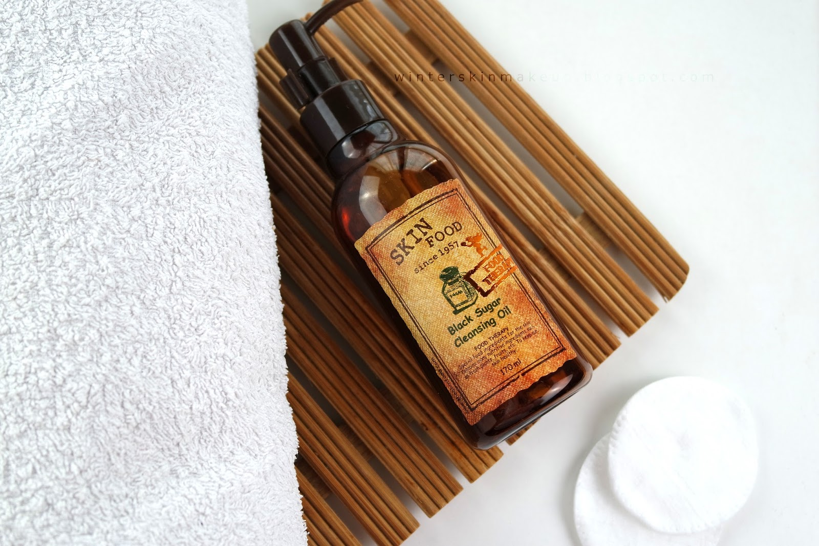 Skinfood Black Sugar Cleansing Oil