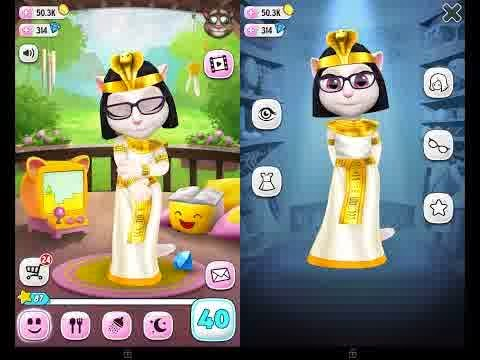 My Talking Angela v1.4.2 APK MOD (Unlimited Coins & Diamond)