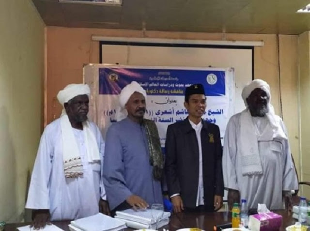 UAS Selesaikan Doktornya di Sudan dengan Predikat Cum Laude