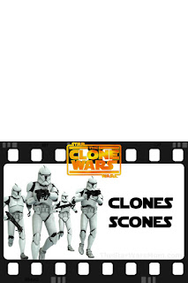 Star Wars Clone Trooper Scones Free Printable Label