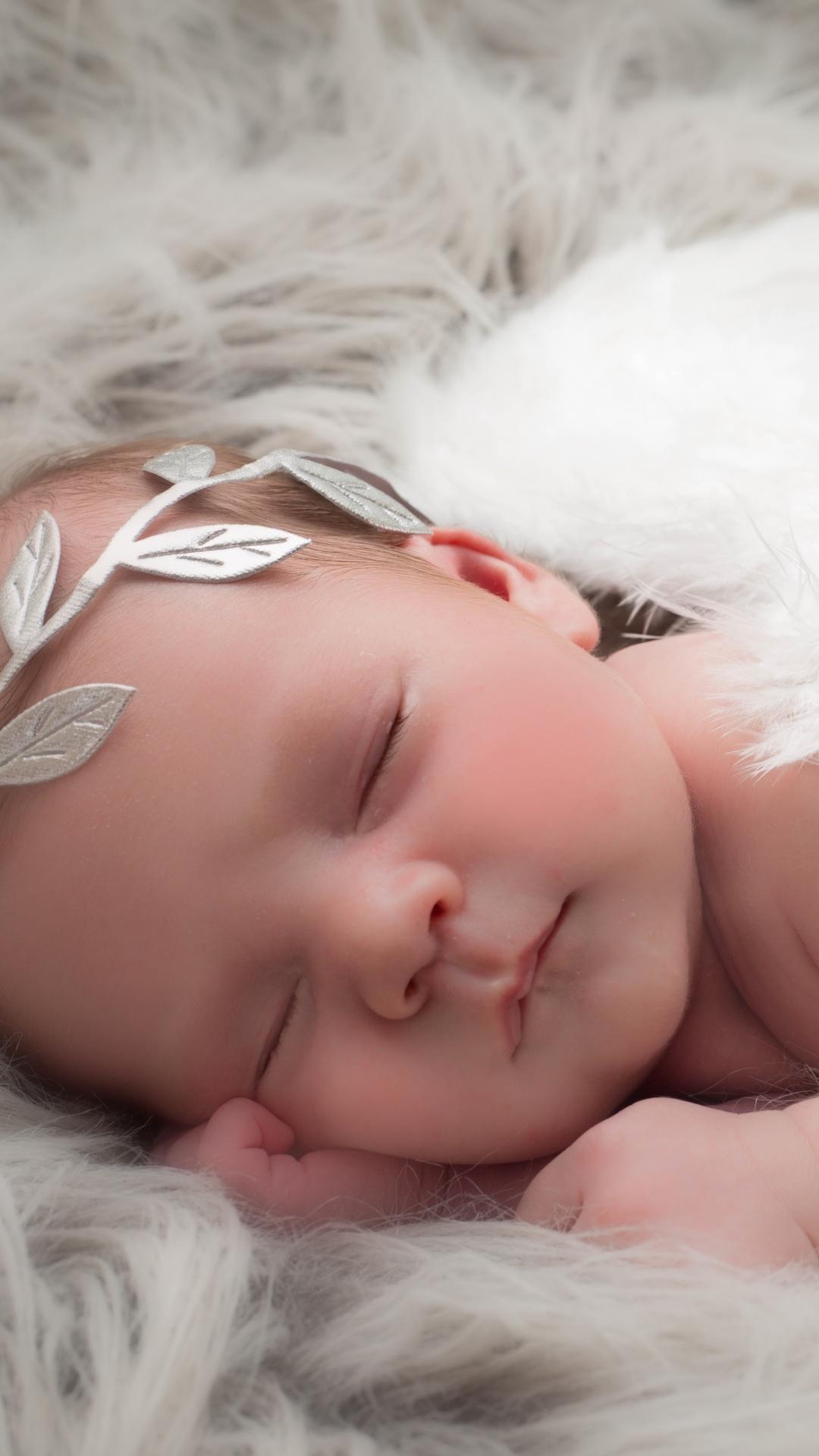 Sleeping Baby Wallpaper