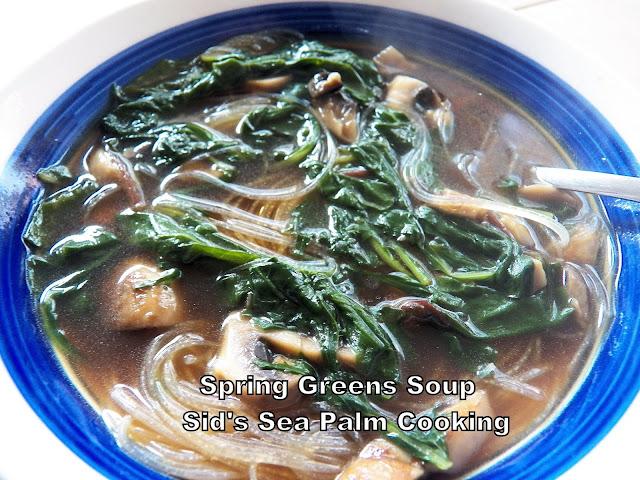 Spring Greens Soup