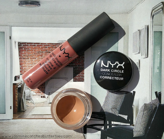 NYX Dark Circle Concealer Review and Swatches