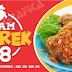 Spanduk Ayam Geprek 88