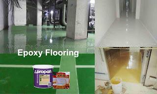 harga jasa epoxy lantai