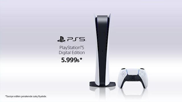 Playstation 5 Dijital Sürümü Türkiye Fiyatı Belli Oldu