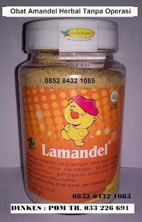 """Jual obat herbal alami amandel""""LAMANDEL""""utk anak,dewasa tanpa operasi"""