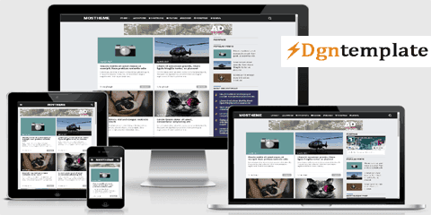 Mostheme Responsive Blogger Template [free]