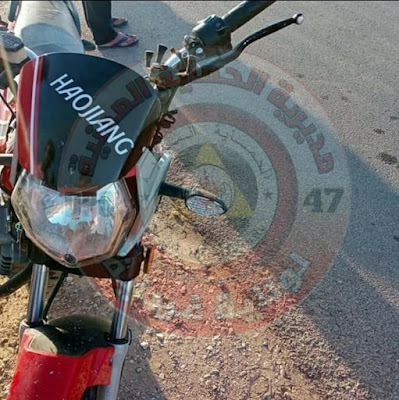 قتيل بعد انقلاب دراجة نارية في غرداية