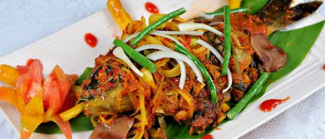 Resep Masakan Khas Aceh Lemang Ikan Mas