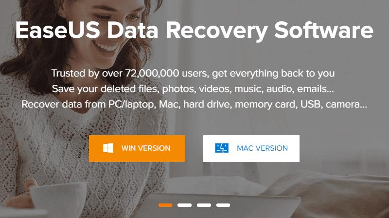 easeus memiliki aplikasi untuk mengembalikan data yang hilang