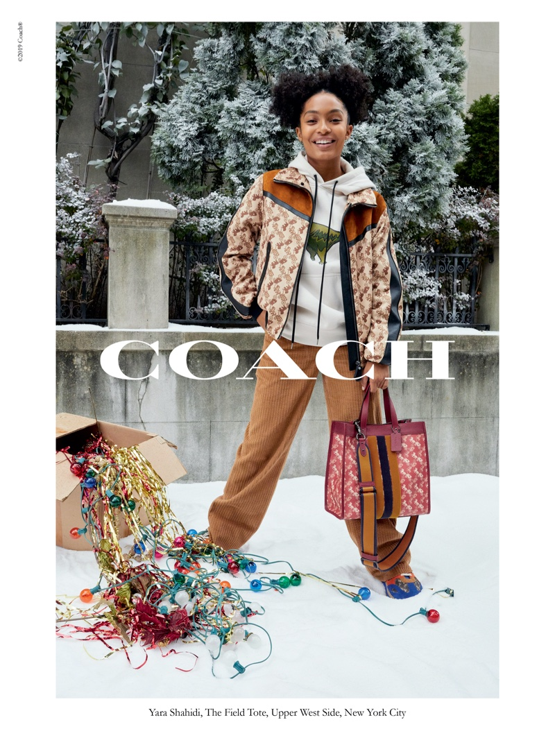 Juergen Teller photographs Coach Wonder for All holiday 2019 campaign