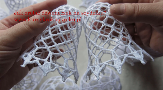 Jak zrobić dzwoneczek 3D na szydełku? - krok po kroku + Video Tutorial