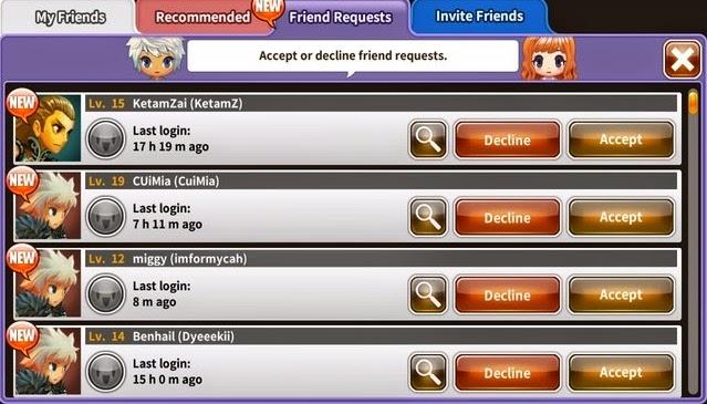 Adding Friends