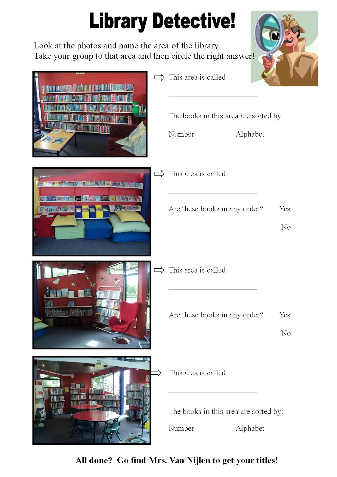 Time4library Library Skills Lessons
