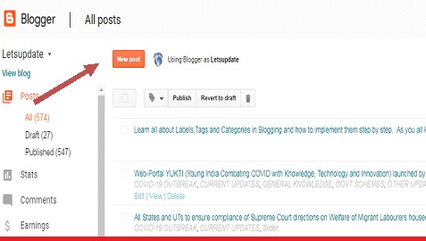 labels, tags, categories, implementation, new posts
