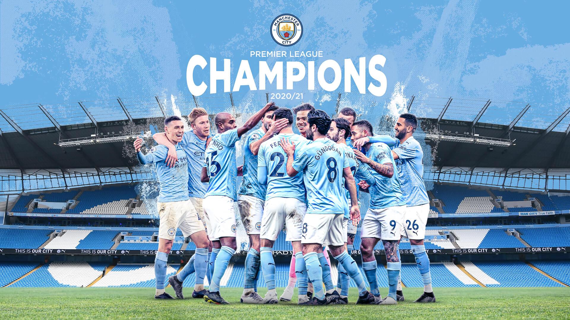 Manchester City se consagró campeón de la Premier League con la derrota del United