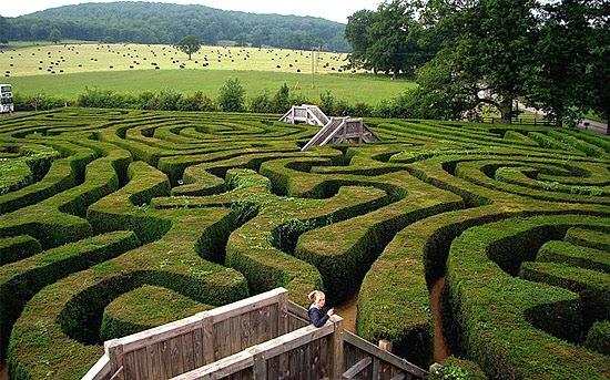 Longleat Labirinto