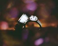 cincin nikah titanium model sederhana