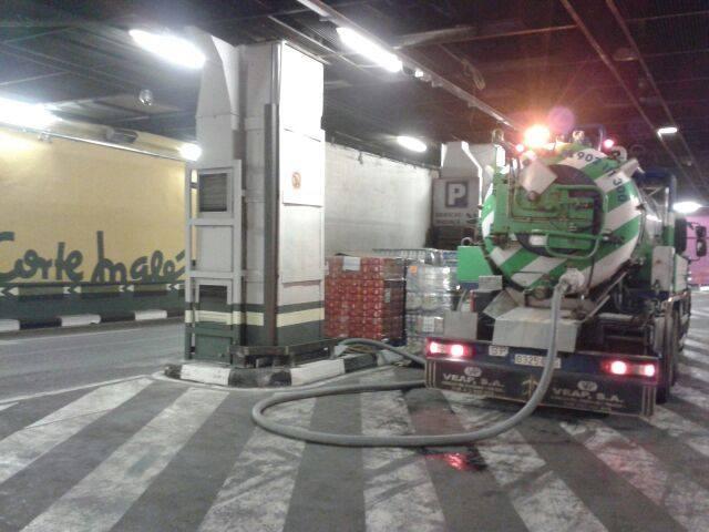 camiones cuba para desatrancos en Colmenar Viejo
