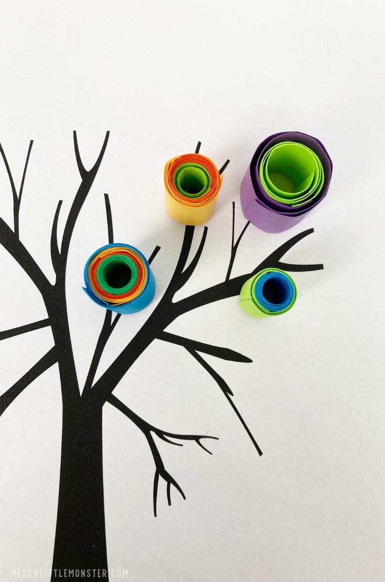 Kandinsky circles tree