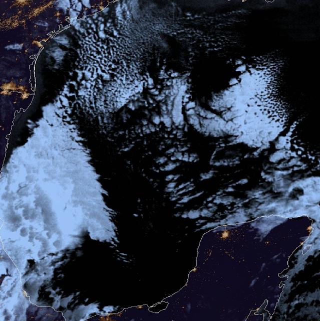 Ingresará un frente frío débil a Yucatán el próximo lunes: Procivy