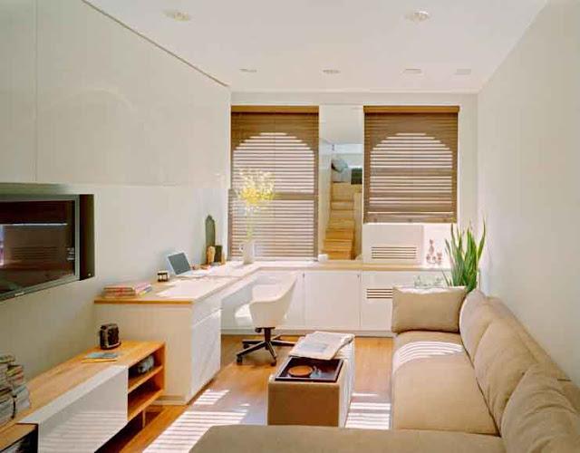Contoh desain interior rumah minimalis sederhana modern