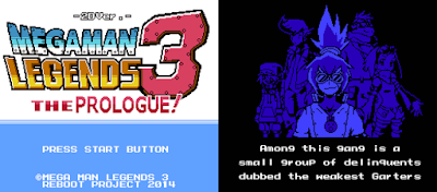 Jogo Mega Man Legends 3 The Prologue 8bits PC Capa