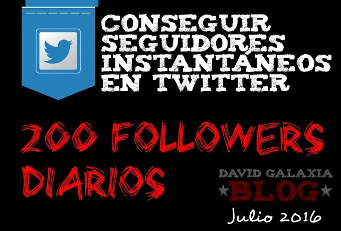 Conseguir seguidores instantáneos en Twitter