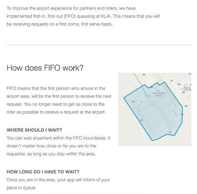 apa itu fifo uber klia2