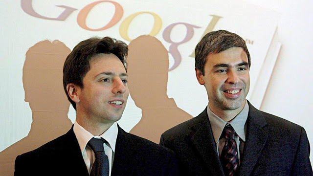 Larry Page Dan Sergey Brin Pencipta Google - Cinta Networking