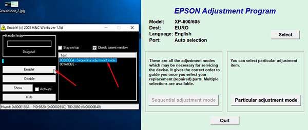 Resetear Almohadillas  Epson Expresion premium xp600
