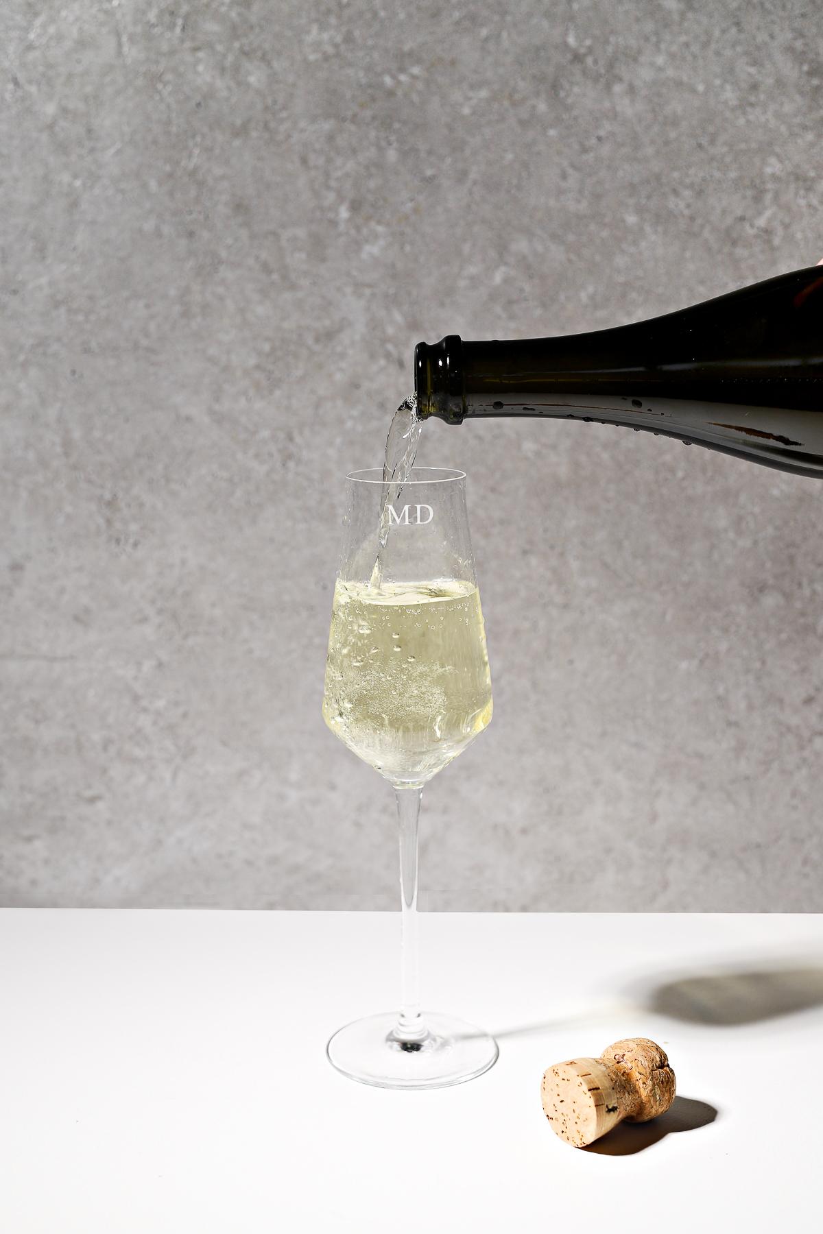personalised monogrammed crystal glassware bridal gifts groomsmen present