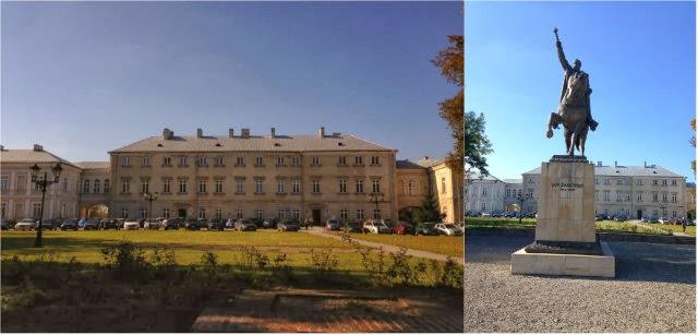 Pałac w Zamościu, Zwiedzanie Zamościa, ciekawe miejsca w Zamościu, Zamość na weekend.