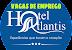 Vaga Para Recepcionista - Hotel Atlantis