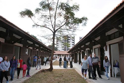 Cocheiras do Parque Chácara do Jockey reformadas para abrigar espaços culturais