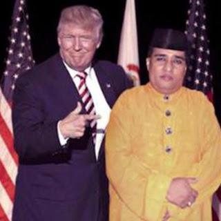 Meme Donald Trump Indonesia dengan Dimas Kanjeng