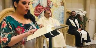 بالفيديو: ياسمين ريتا التي اعتنقت المسيحيّة تُهدي يسوع ومريم العذراء ترنيمة كتبت كلماتها