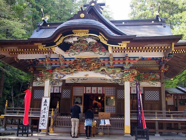 長瀞 寳登山神社