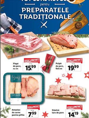 catalog craciun 2019 promotii la carne de porc