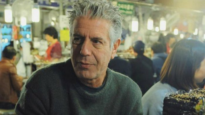 Anthony Bourdain (A cook's Tour, Parts unknown and No reservation)