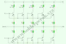 Cara Paralel Transistor Final Pada Amplifier