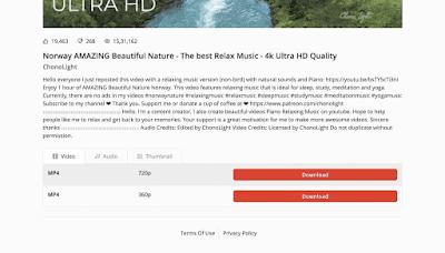 Cara Download Video Youtube Tanpa Aplikasi dengan Savetube