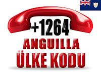 +1 264 Anguilla ülke telefon kodu