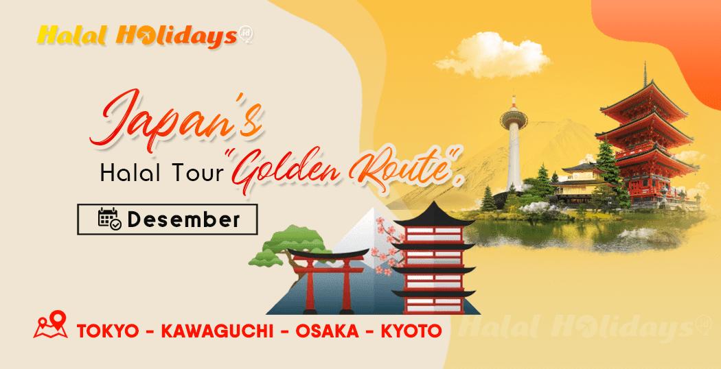 Paket Wisata Halal Tour Jepang Tokyo Osaka Kyoto Desember 2020